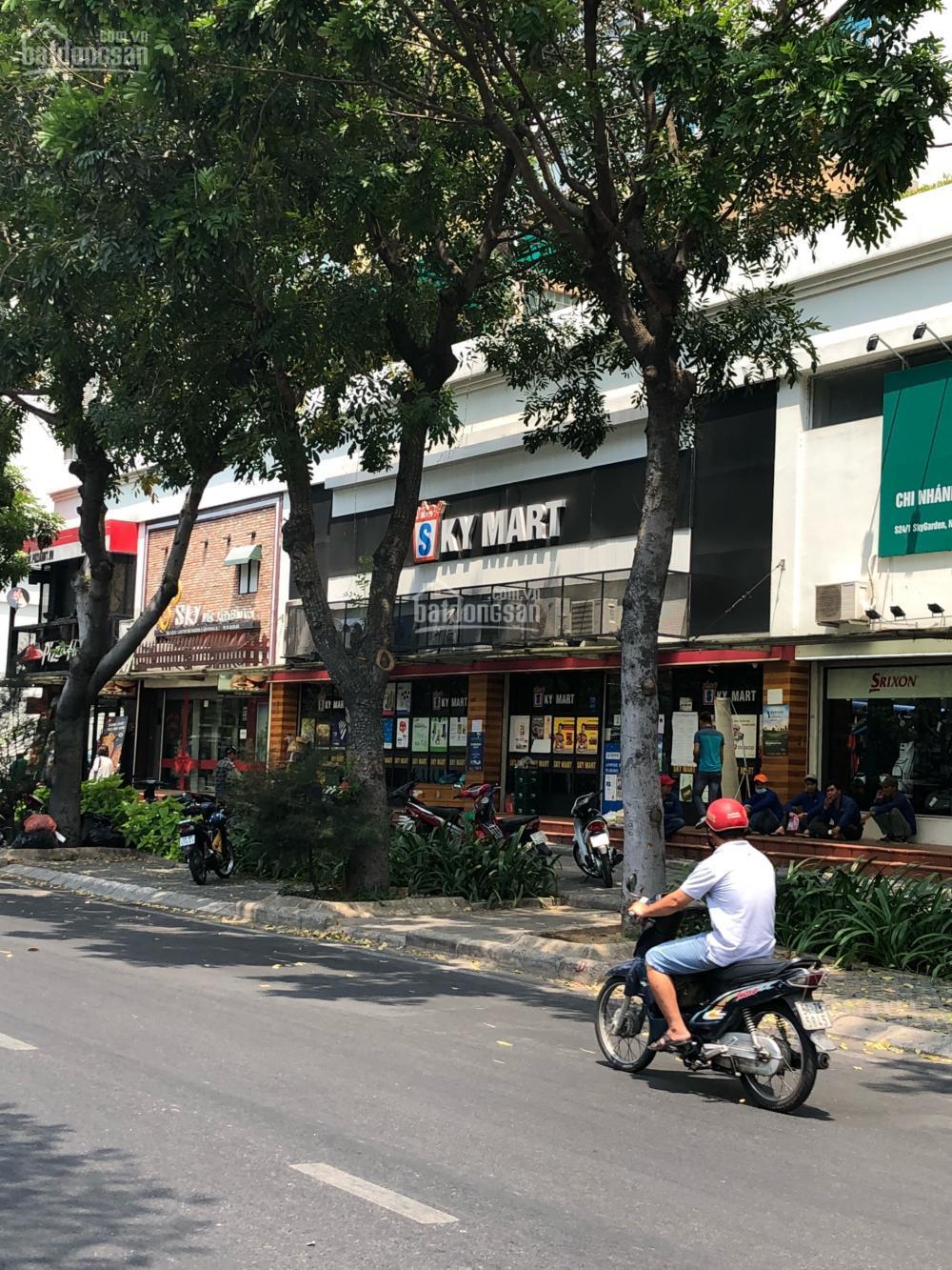 Bán shophouse Sky Garden 1, mặt tiền Nguyễn Văn Linh, Phú Mỹ Hưng, Quận 7, 200m2 HĐT 100tr/tháng